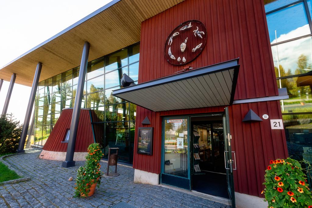 Sonkajärven kirjasto. Kuva: Tuomo Lindfors