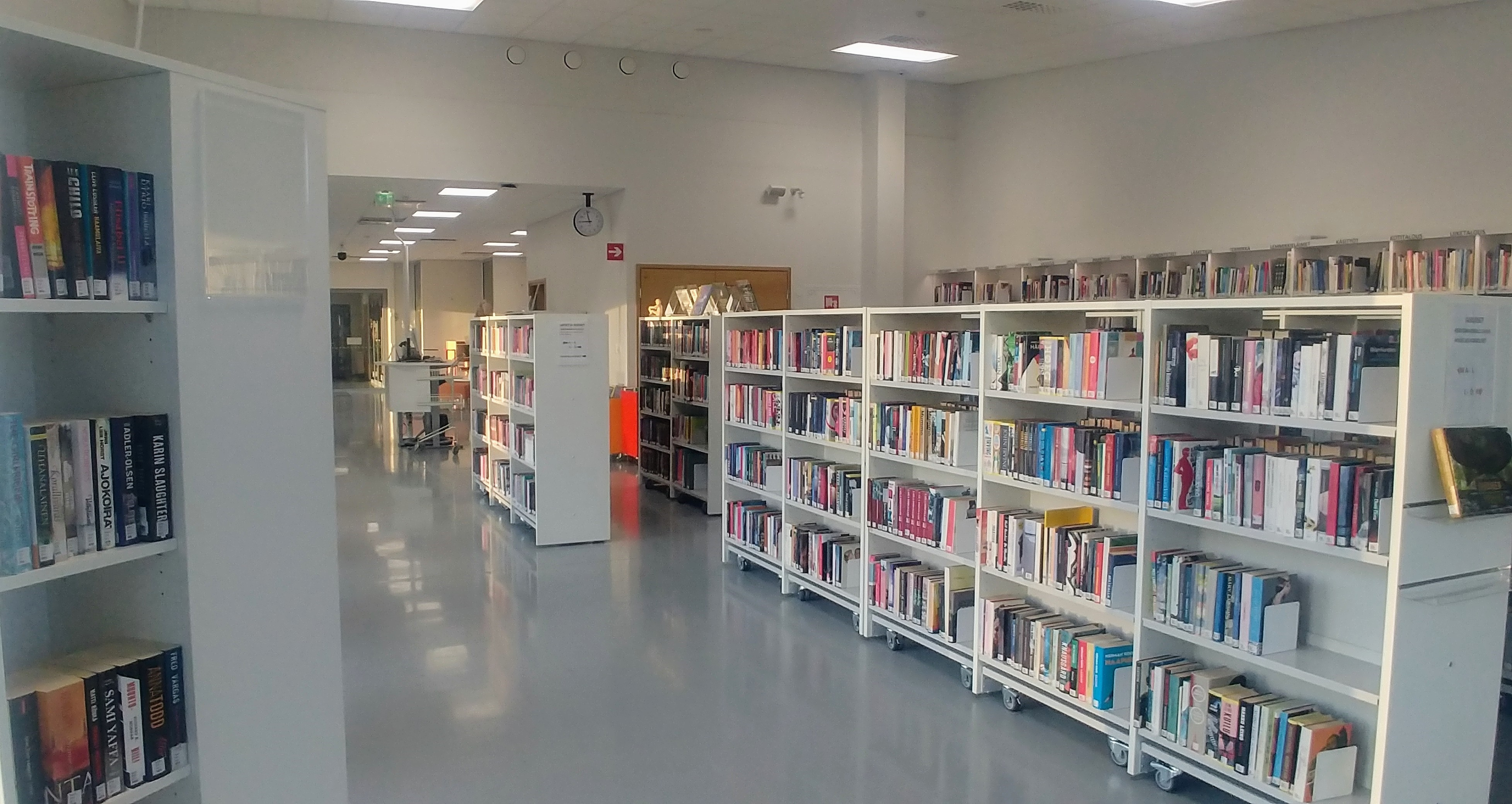 Karttulan kirjaston tiloja